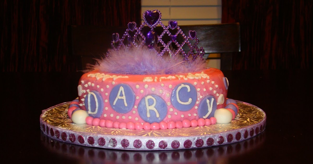 Kelly s Kakes: Happy Birthday Darcy!!