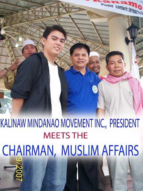During the Mindanao week of peace
