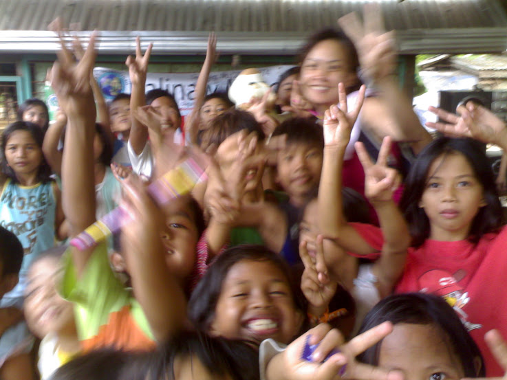 Children who attend the workshop @ landfill CDO 12.30.09
