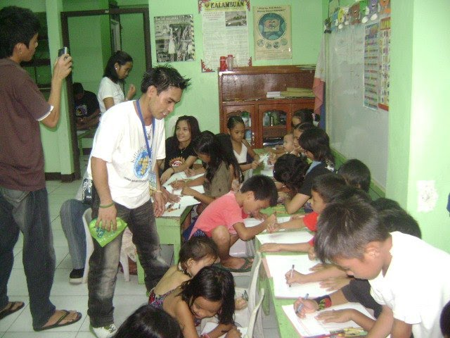 Peace workshop at Brgy. 27   July 25,2010