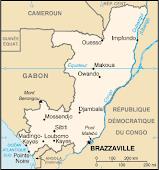 LA CARTE DU CONGO/BRAZZA