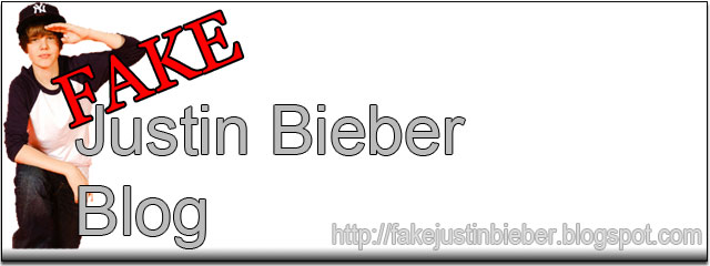 The Official FAKE Justin Bieber Blog