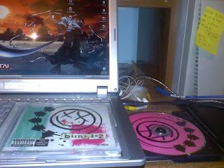 Mi cd original de Blink-182, para que no digan que no tenemos lo que compartimos