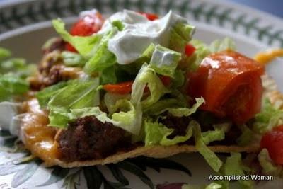 Grilled-Chicken Tostados