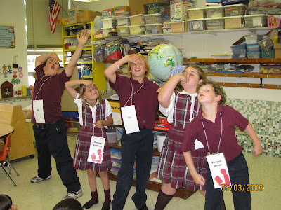photo of: Second Graders Perform Debbie Clement's Piggy Rap