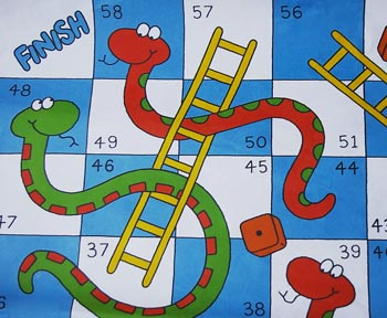 ... printable worksheets on preposition · printable snakes ladders board