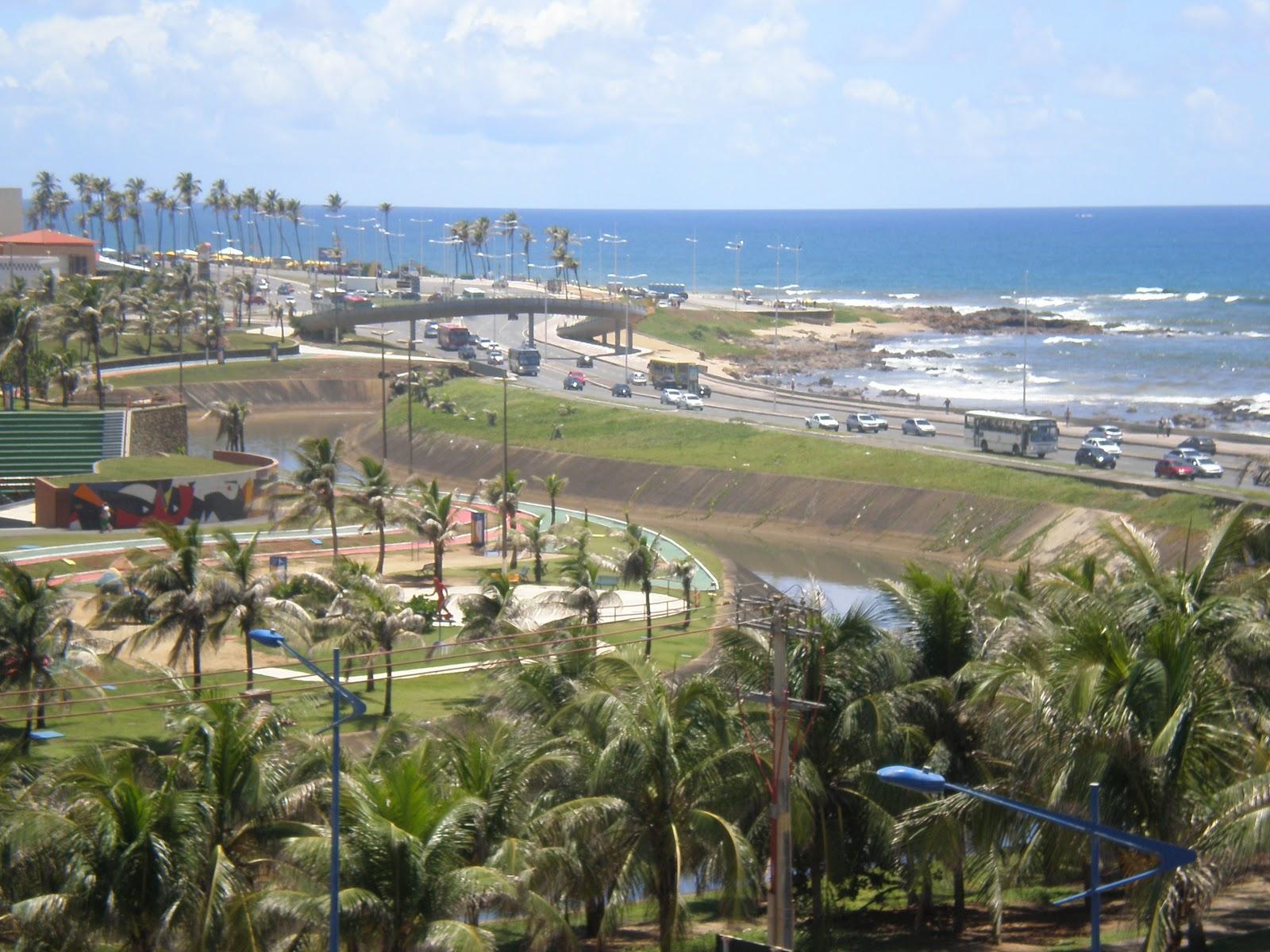 #2F619C PARQUE COSTA AZUL À ESQUERDA AV. OCEÂNICA E A EXUBERÂNCIA DO  1600x1200 px Banheiro Do Parque Costa Azul 3345