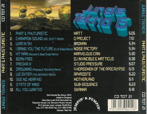 DJ Phantasy - The Jungle EP