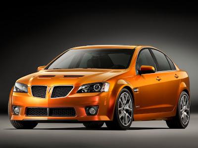 2009 Pontiac G8 GXP Car Image