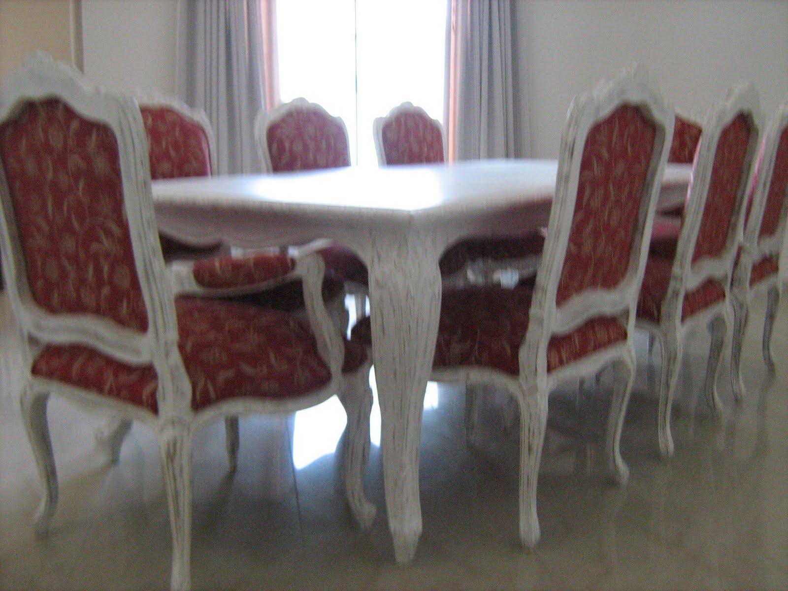 Sala Jantar Luis XV em Madeira Jequitiba em acabamento Patina  ~ Sala De Jantar Estilo Luis Xv