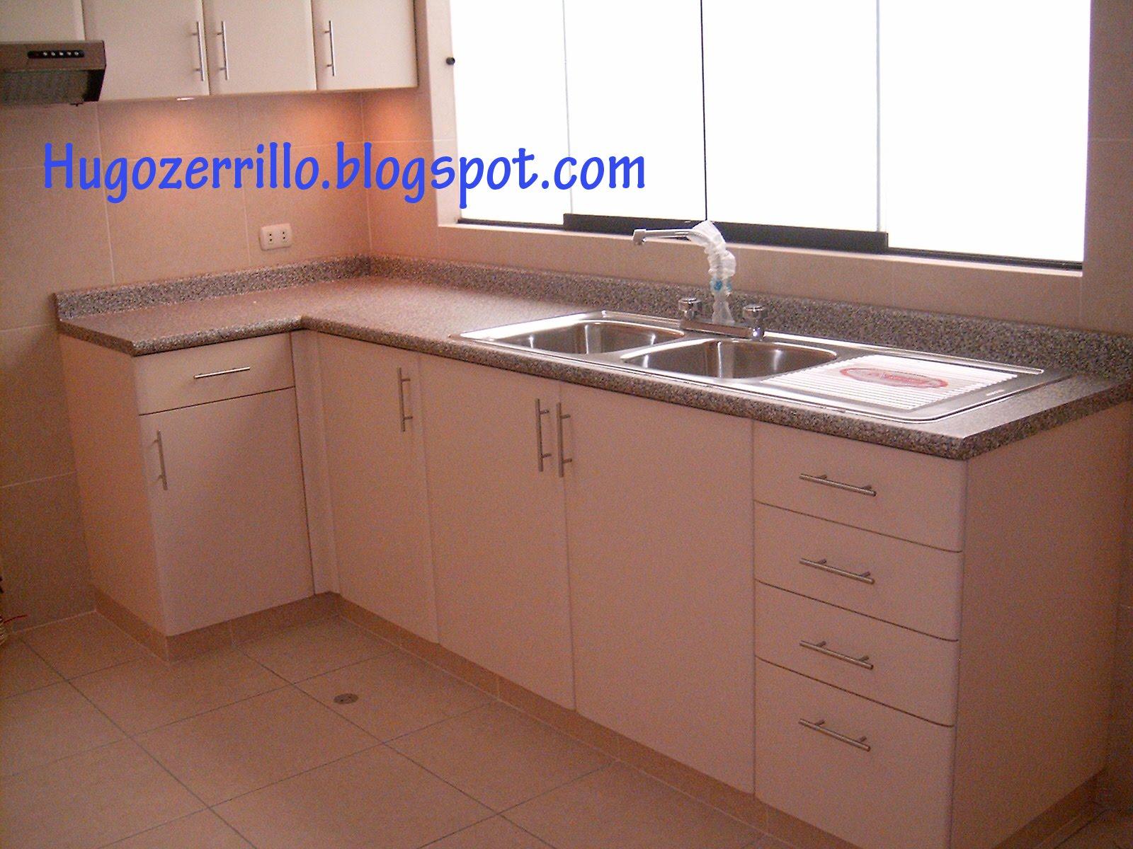 Muebles de melamine galeria cocinas for Lavadero empotrado