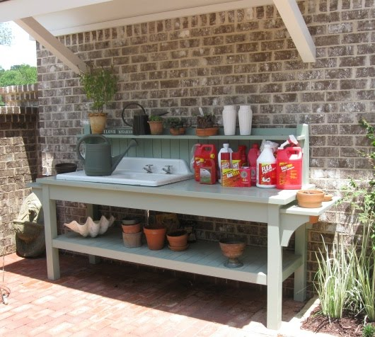 Amazing Potting Table with Sink Plans 530 x 476 · 71 kB · jpeg