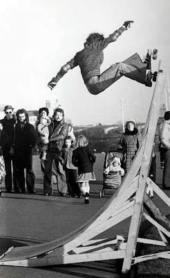 Trawler skate Plymouth Hoe 1977