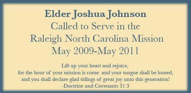 Elder Joshua Johnson