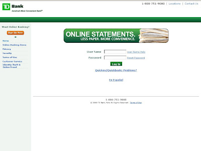 TDBanknorth Online Banking - Login to www.tdbank.com Internet Banking