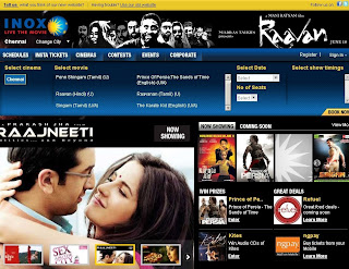 Inox Chennai Online Ticket Booking: User Guide