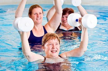 Water Aerobics Exercise Routines for Fitness