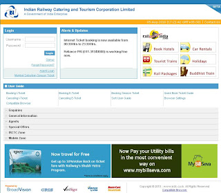 IRCTC's Beta Version Website Review