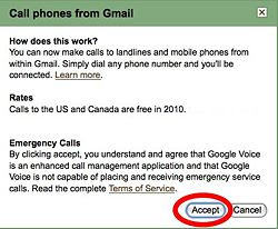 Use Gmail to call other phones using Gmail Phone Call Feature