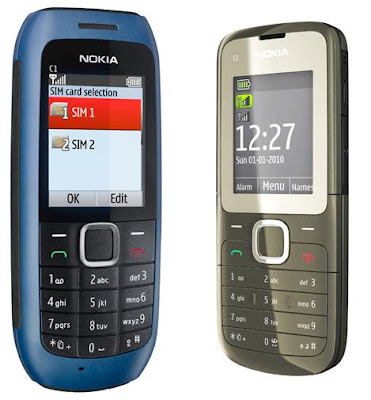 how to change language on nokia c1 00 00