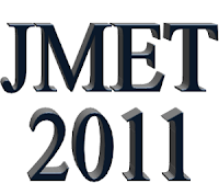 JMET 2011 Notification - Joint Management Entrance Test 2011 Dates