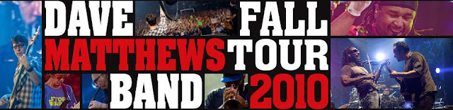 Dave Matthews Band Arena Tour 2010 - Dates Revealed