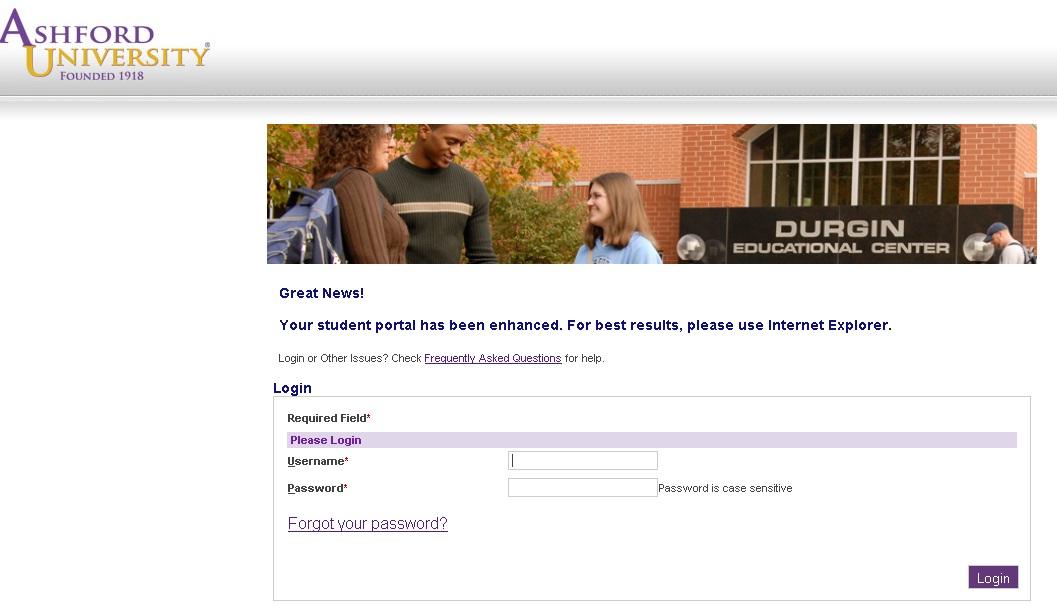 ashford university student portal ashford university student portal is ...