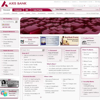 Axis Bank Internet Banking - User Guide