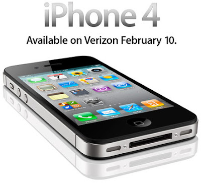 Apple's New CDMA iPhone 4 comes to Verizon from 10th Feb