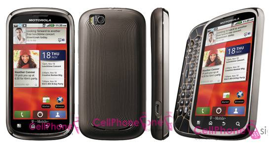 Motorola Cliq 2 to launch at CES 2011