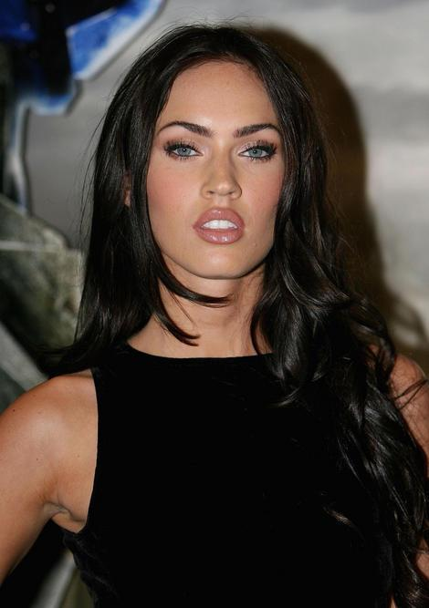 Megan Fox Just because she has long dark hair, sexy red lips and a