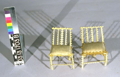 ... Doll Houses With Furniture Made Of Feathers, And He Called These Silk  Upholstered Examples From The Museumu0027s DuCane Doll House U201cunusually  Elegantu201d.