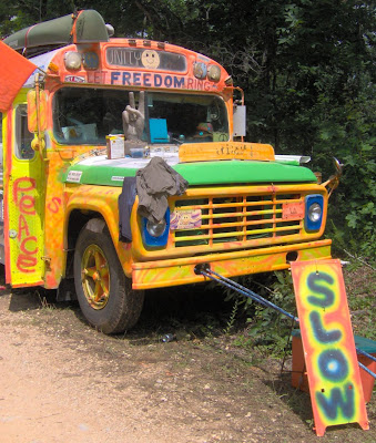 cool hippie bus