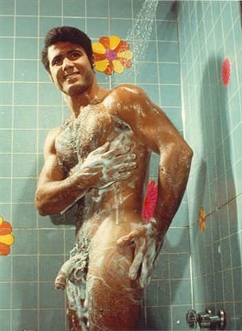 Naked female bath