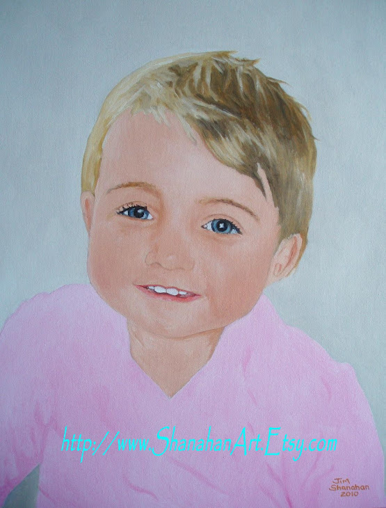 Example of my Portrait Work - Held in Private Collection