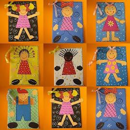 Cartões menininhas