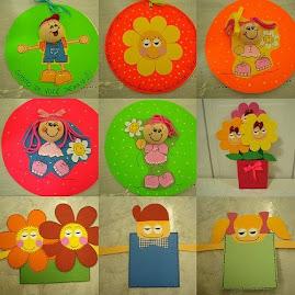Cartões circulares