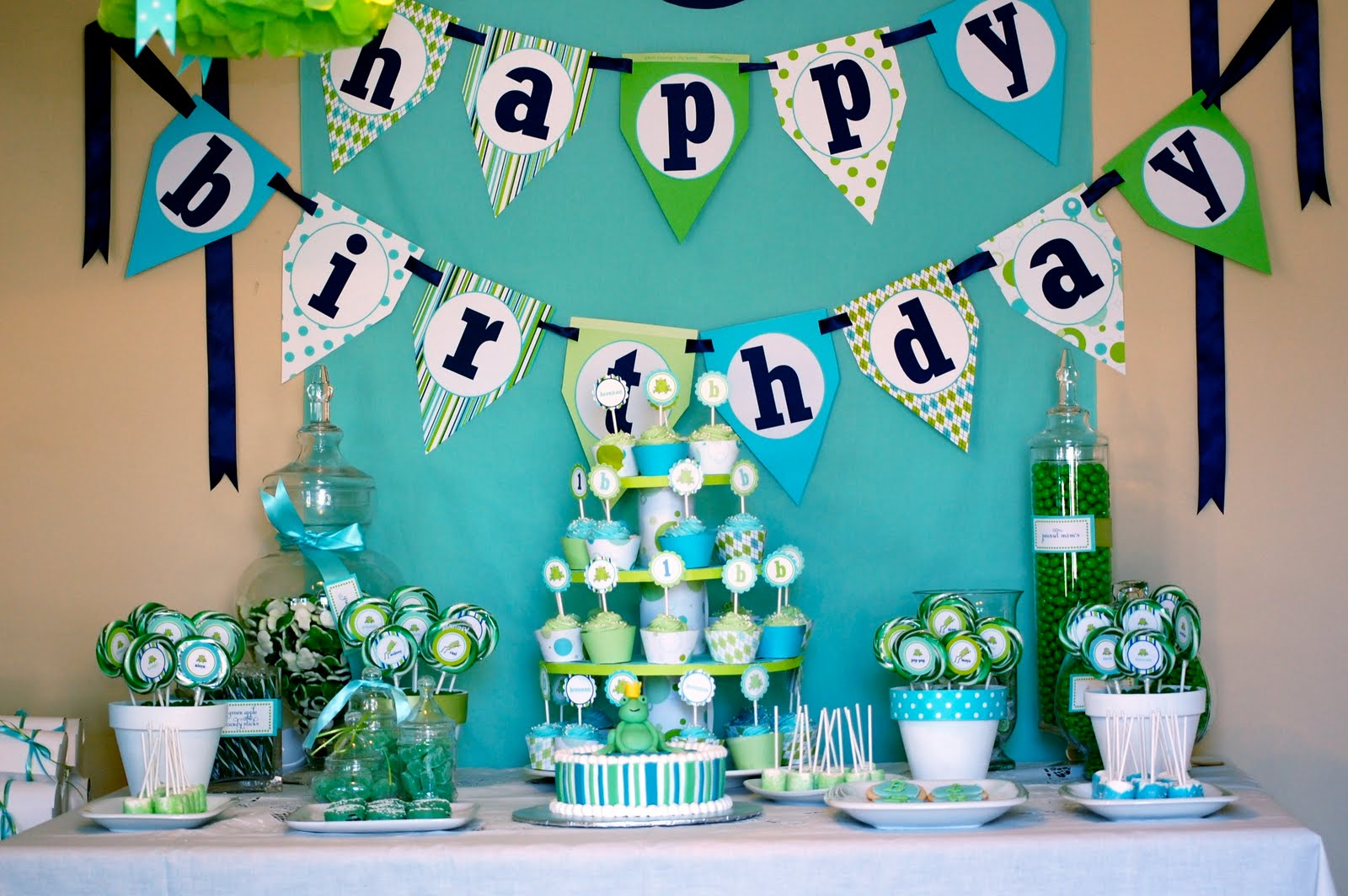 "The Frog Prince Birthday Candy Buffet – the Birthday Party ""WOW ..."