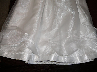 skirt of Jocelyn's dress