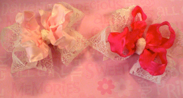 Every Little Girl Deserves A Lace Place Bow.....