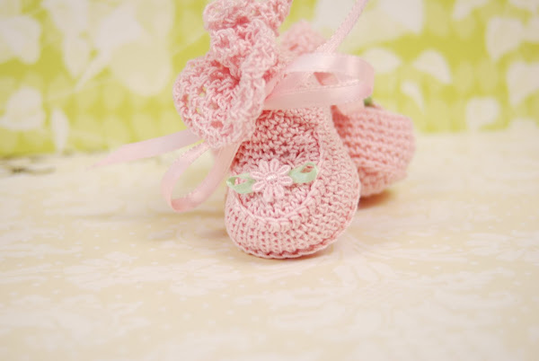 Handmade booties