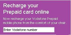 Vodafone.in/Recharge - Recharge your Vodafone mobile phone online