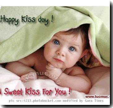 Kiss Kiss Day Messages, Sms & Wishes
