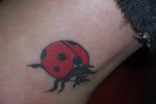 Ladybug Tattoo Designs for Women