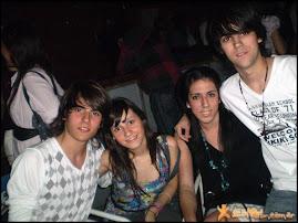 Ema, yo, Ju y Deivi♥