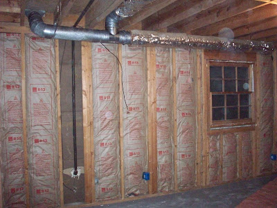 Quackers about ducts bower power for Basement insulation wrap