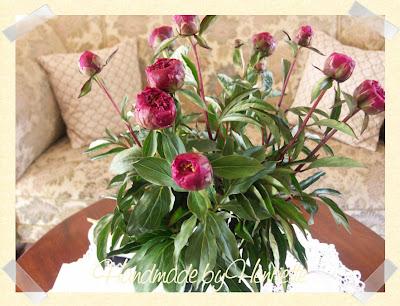 Handmade by henriette: min blomst............