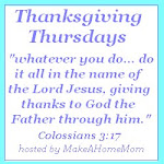 Thanksgiving Thursdays