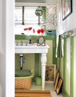 Lilac lane cottage cottage bathroom ideas for Country living bathroom designs
