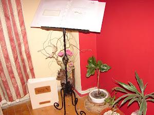 Suport fier forjat(panou aranjarea meselor sau invitatilor)
